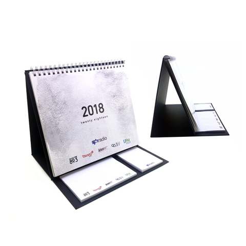 Calendar with Sticky Pad