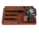 3 in 1 Wooden Charging Dock