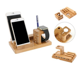 Bamboo 5-port USB Charging Station