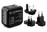 USB Travel Adaptor with 4 Hub