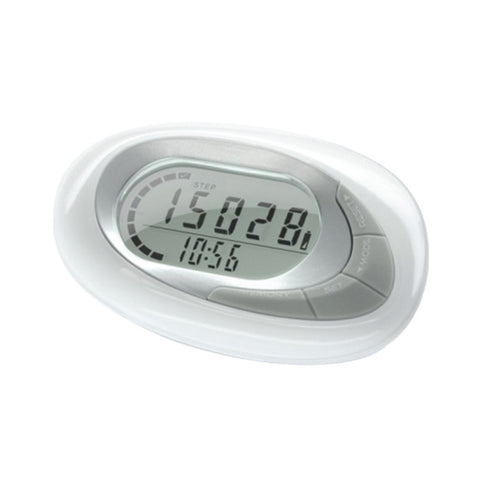 Sensor multi function pedometer with 7 day memory/clock