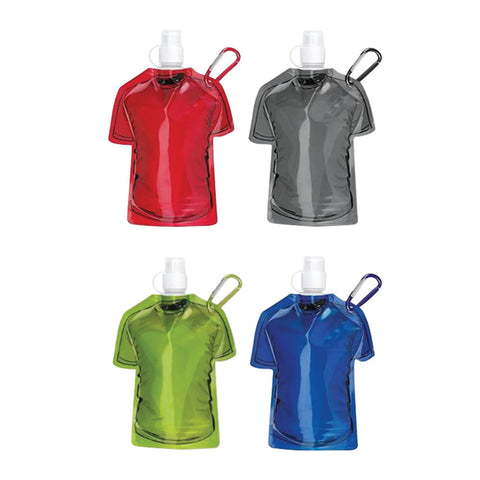 T Shirt Shape Foldable Water Bottle