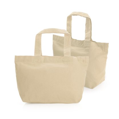 8oz Mini Cotton Canvas Tote Bag