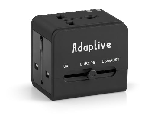 Travel Adaptor with 2 Hub