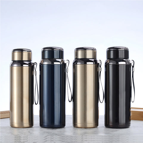 Stainless Steel Vacuum Flask with Tea Diffuser