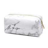 Marble PU cosmetic bag