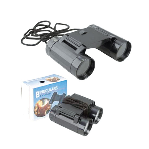 Wanderer Plastic Mini Binoculars in Black