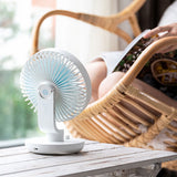 Creative Shaking Head Charging Desktop Fan