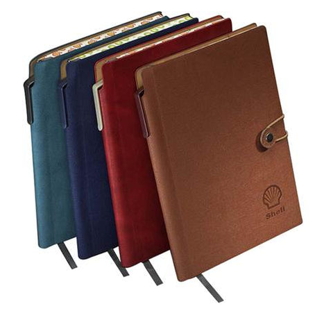 Vintage leather A5 notebook