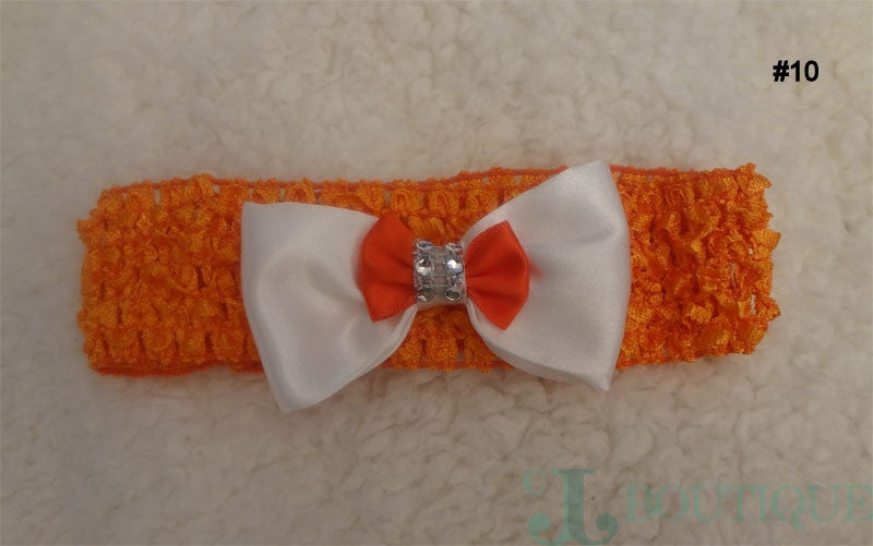 Blanco Orange Headband - CJJBoutique.com