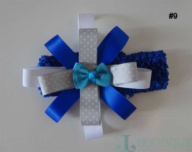Royal Blue Headband - CJJBoutique.com
