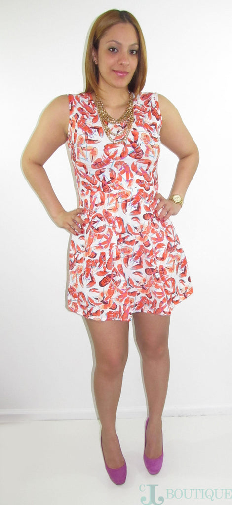 Cute & Fun Festival Mini Dress - CJJBoutique.com