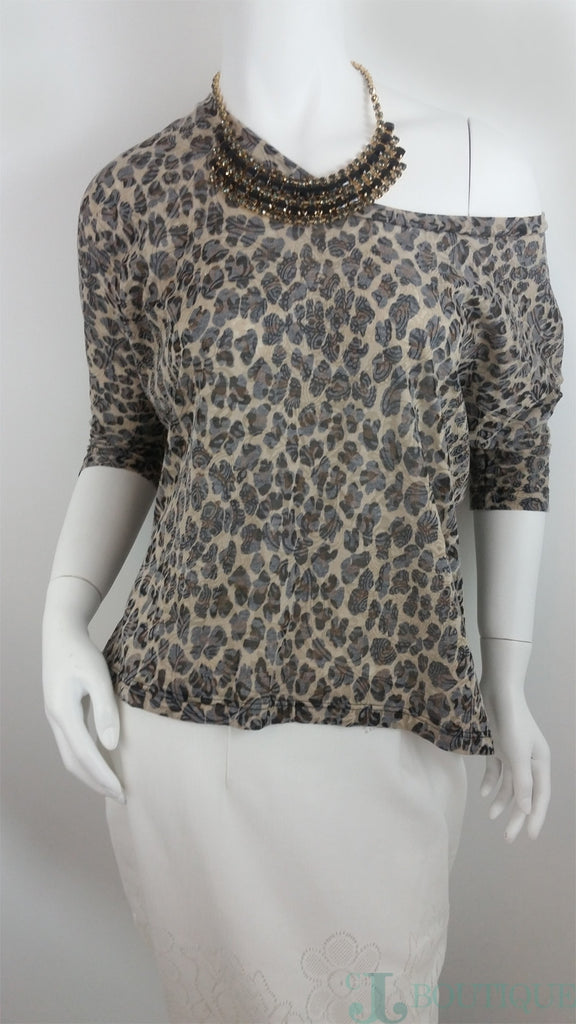Cute Prints High Low Blouse - CJJBoutique.com