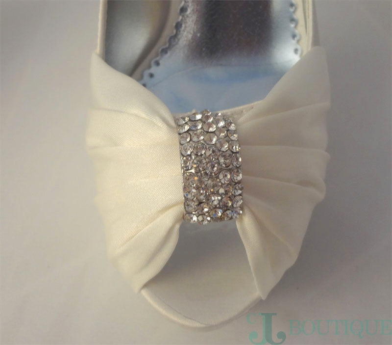 Michaelangelo Ivory Platform Shoes - CJJBoutique.com