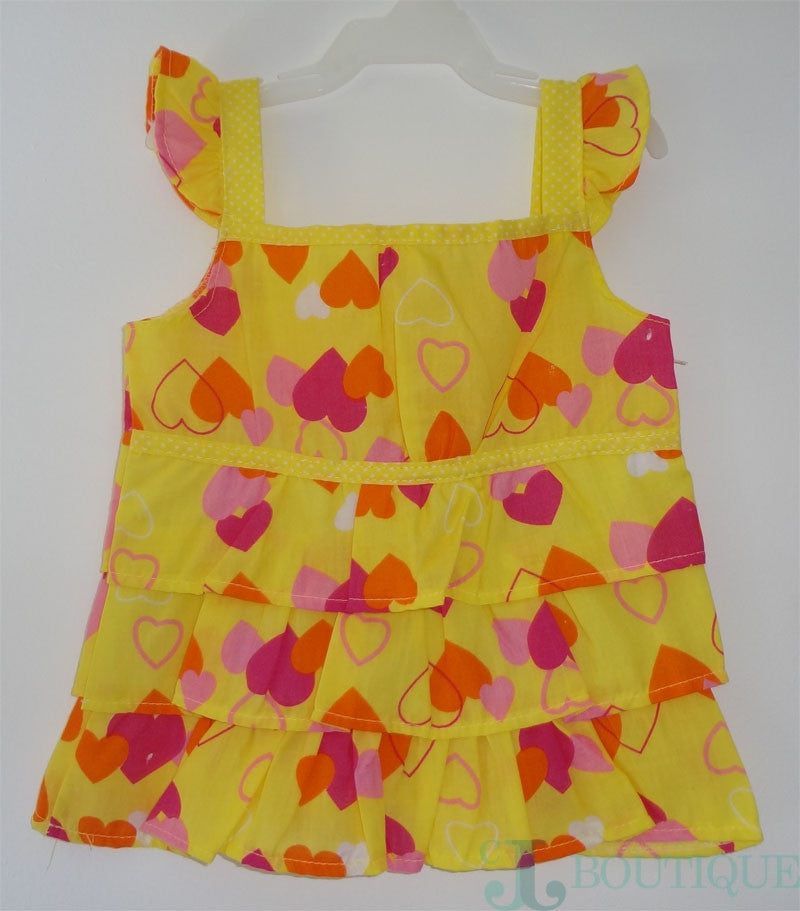 Baby girl yellow blouse - CJJBoutique.com