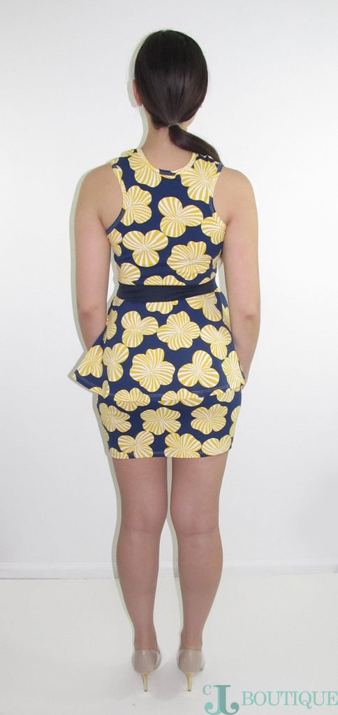 Licy Two Piece Floral Dress - CJJBoutique.com