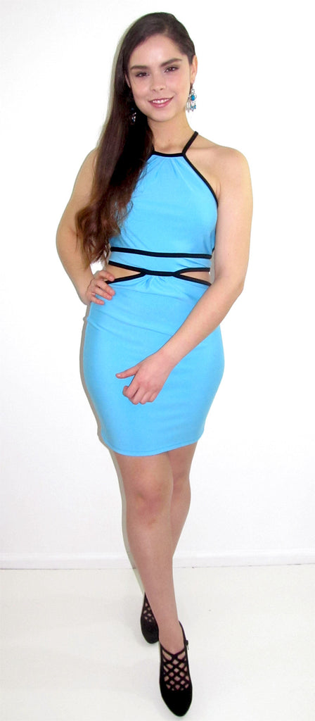 Azul Mini Club Dress - CJJBoutique.com