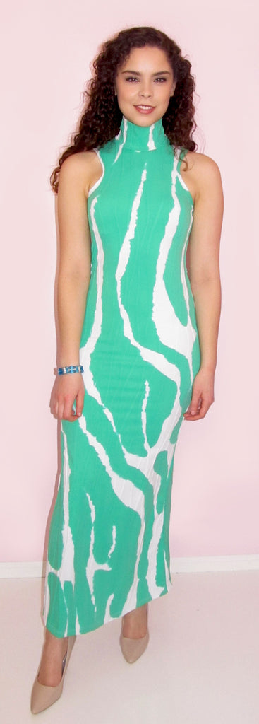 Sharon Turtleneck Maxi Dress - CJJBoutique.com