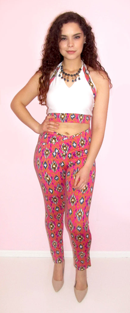 Adorable Crop Top and Leggings Set - CJJBoutique.com