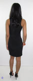 Denny Black Mini Dress - CJJBoutique.com