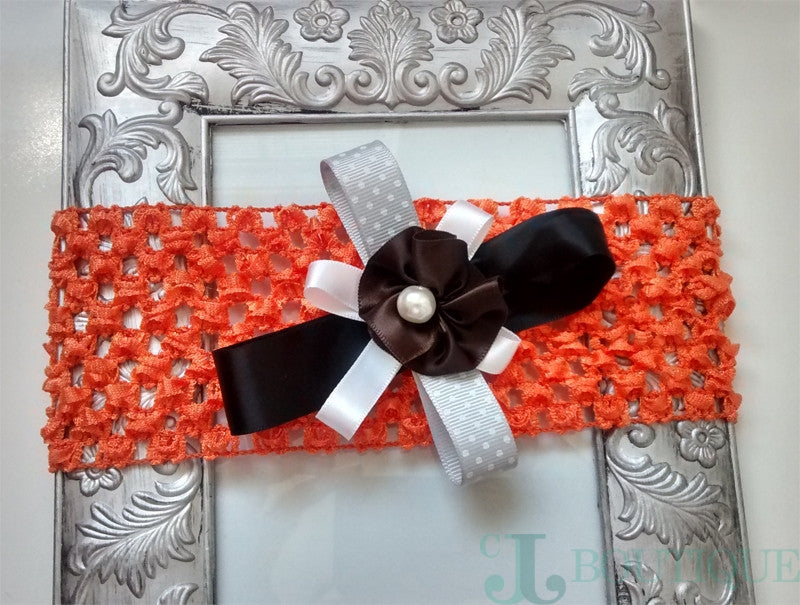 Precioso Orange Headband - CJJBoutique.com
