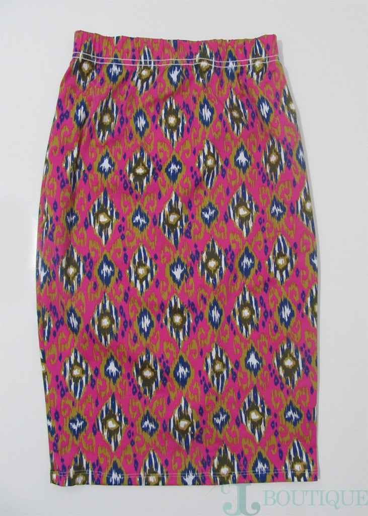 Rose Pencil Skirt Set - CJJBoutique.com