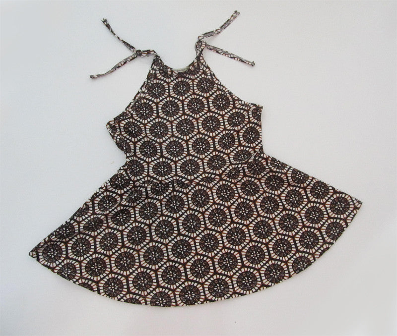 Vanilla & Chocolate Two Piece Dress - CJJBoutique.com