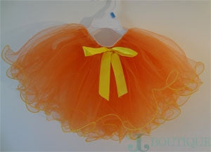 Orange Tutu skirt - CJJBoutique.com
