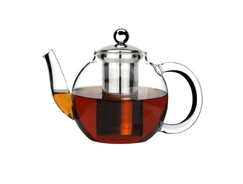 Athena Glass Teapot with Infuser - 1 Litre