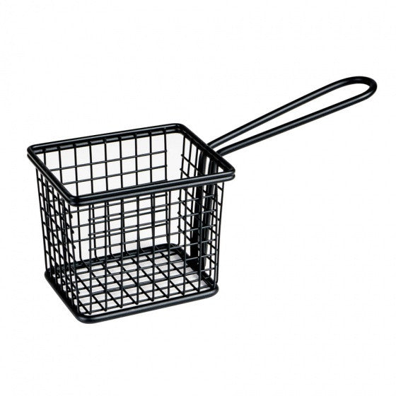 Moda Serving Basket - Black - Square