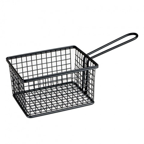 Moda Service Basket - Rectangle - Black - Medium