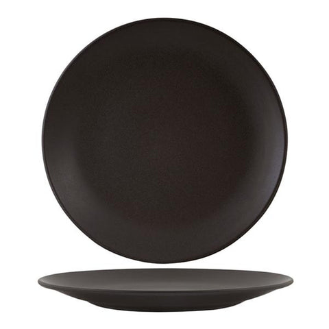 Zuma Charcoal Coupe Plate - Medium (230mm)