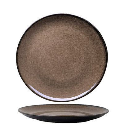 Luzerne Rustic Chestnut - Round Plate - Large (265mm)