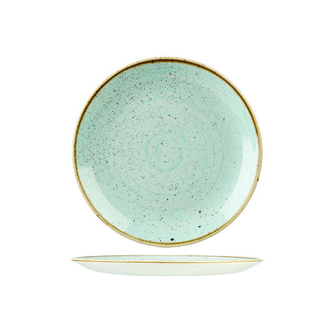 Churchill Stonecast - Duck Egg Round Plate - Small (162mm)