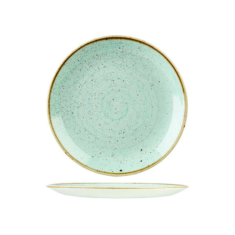 Churchill - Stonecast Duck Egg Round Plate - Medium (217mm)