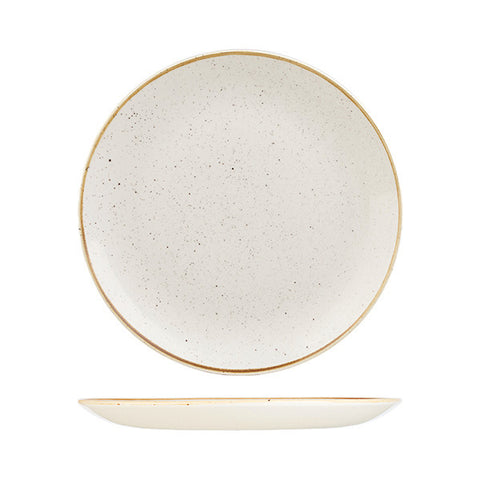 Churchill - Stonecast Barley White Round Plate - Large (288mm)