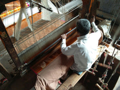 Weaver working