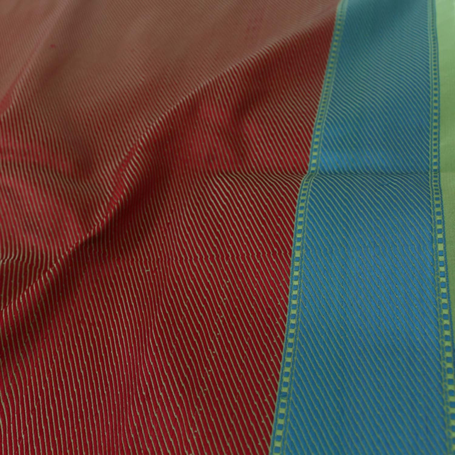 Pista Green Pure Satin Silk Banarasi Handloom Saree - Tilfi - 5