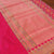 Indian Pink-Red Shot Color Pure Katan Silk Patola Banarasi Handloom Saree - Tilfi - 2