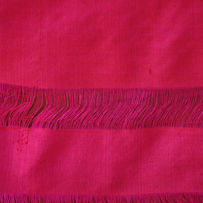 Indian Pink-Red Shot Color Pure Katan Silk Patola Banarasi Handloom Saree - Tilfi - 4