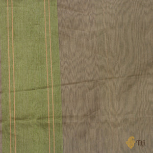 Multicoloured Pure Kora Silk by Cotton Banarasi Handloom Saree