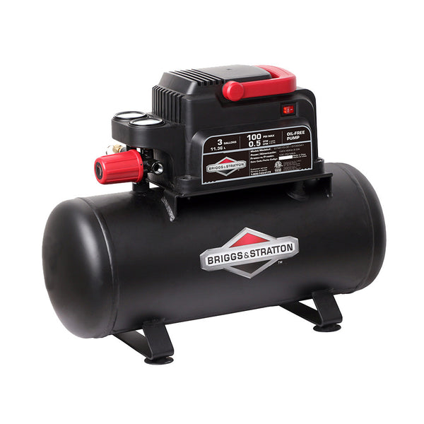 074015-00   Briggs & Stratton 3-Gallon Air Compressor