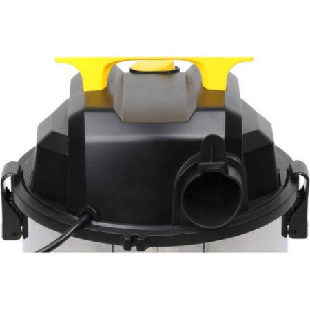 SL18301-4B - STANLEY WET/DRY VACUUM - 3 PEAK HP, 4 GALLON, STAINLESS STEEL - Sold at Wal-Mart