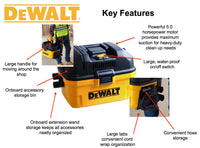 DXV04T DeWALT Portable 4 Gallon Wet/Dry Vac