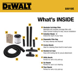DXV10S DeWALT 10 Gallon Stainless Steel Wet Dry Vac