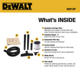 DXV12P DeWALT 12 Gallon Poly Wet/Dry Vac