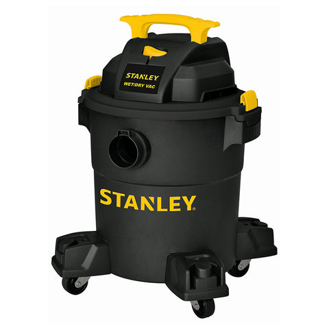 SL18116P - Stanley Wet/Dry Vacuum - 4 peak HP, 6 Gallon, Poly