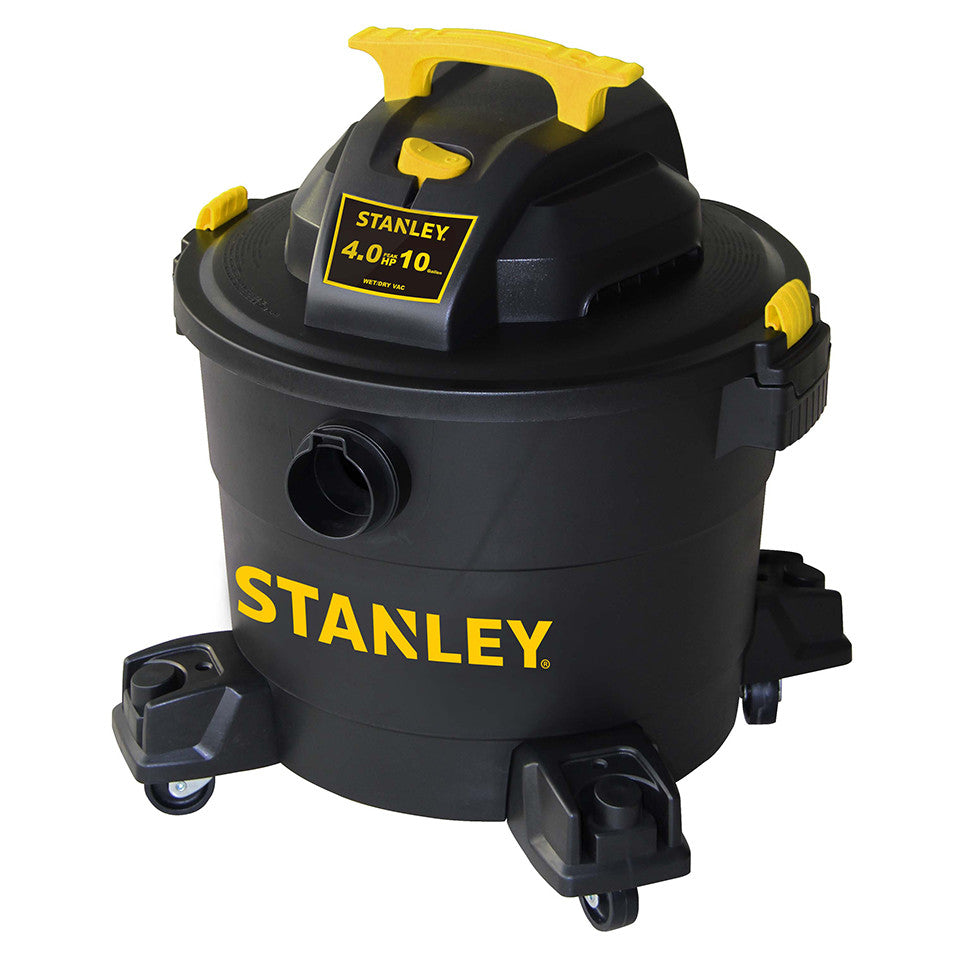 SL18191P - Stanley Wet/Dry Vacuum - 4 peak HP, 10 Gallon, Poly