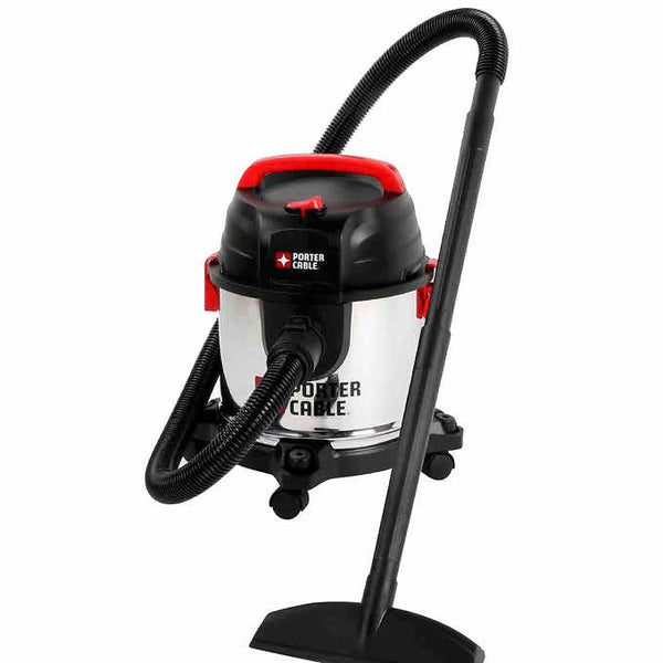 PCX18301-4B Porter-Cable Stainless Steel  wet/dry vacuum, 4 Gallon, 4 Peak HP