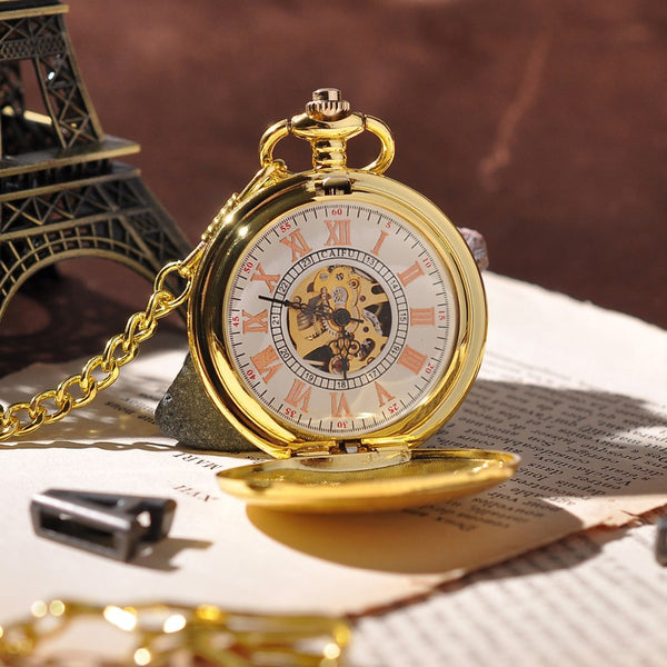 Montre mécanique Gold Shield